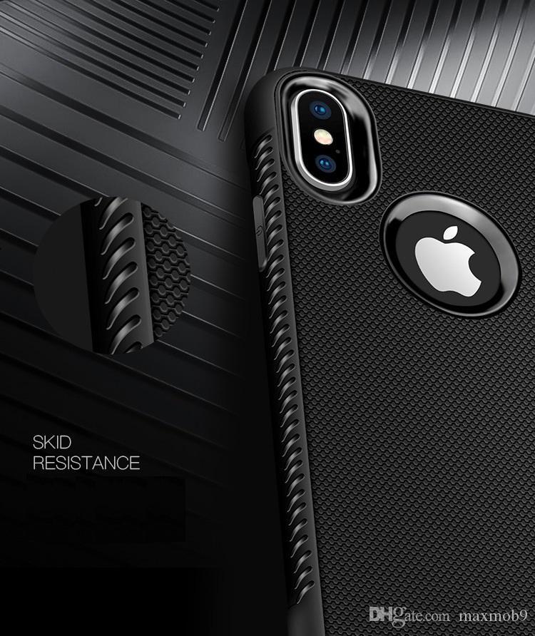 Neu für iphone xr xs max x 6s 7 8 plus tpu weiche gummi silikonzelle handy case schlanke abdeckung für samsung s8 s9 s10 plus note 8 9 luxus