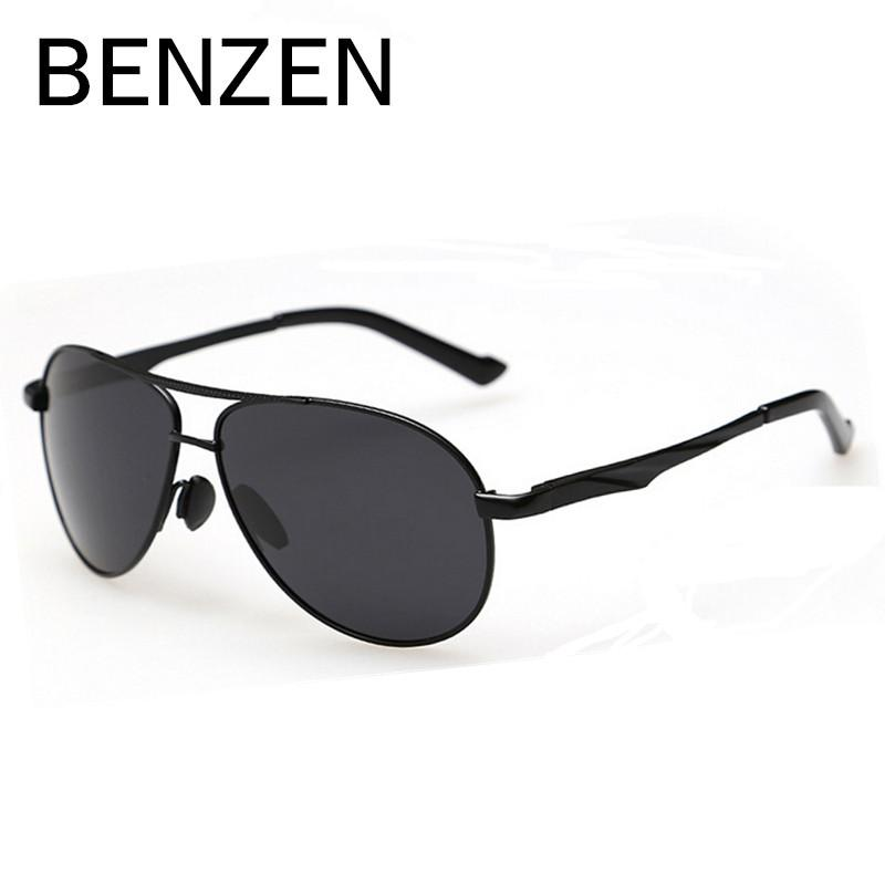 e2b6cba935 BENZEN Polarized Sunglasses Men Male Shades UV 400 Men Driving Sun ...