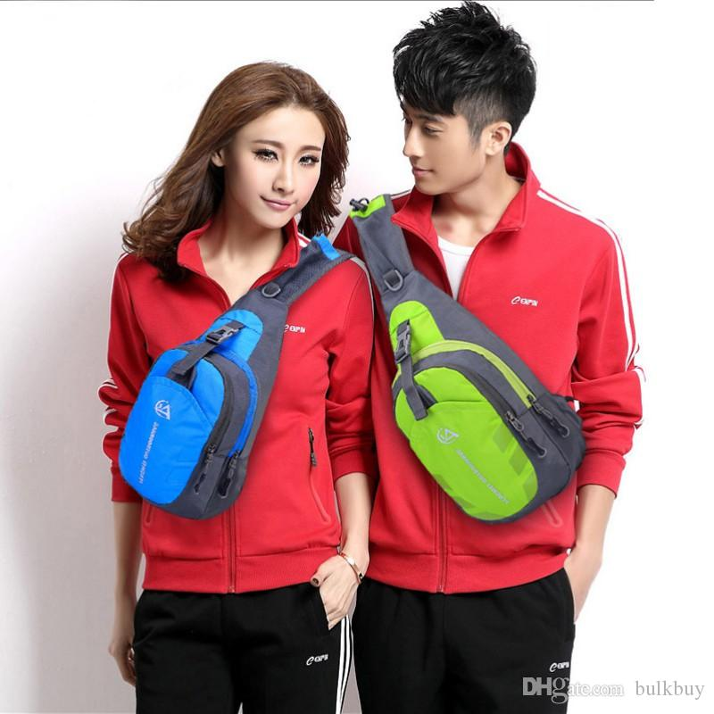 Bust Oxford Cloth Sports Bag Outdoor Travel Hiking Shoulder Backpack Sling Bags Multifunctional Bag