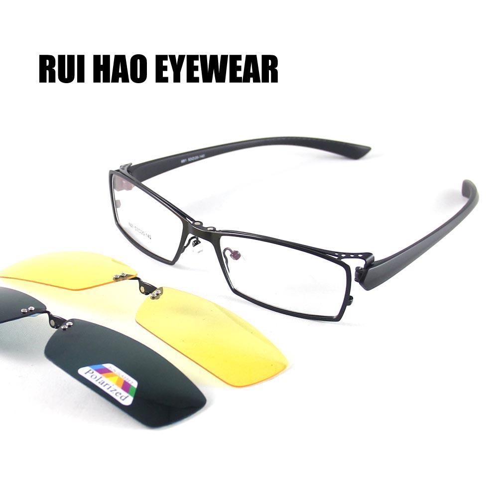 0ed46cb515 Occhiali da sole montatura da vista e occhiali da sole magnetici su Rui Hao  Occhiali da vista montatura Occhiali unisex Occhiali da sole polarizzati ...