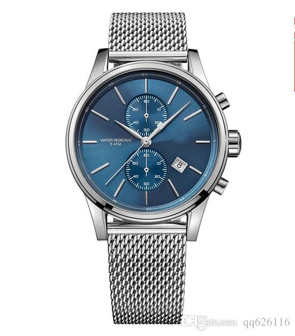New fashion individual men's watch 1513440 1513441 + original packing + wholesale retail + free delivery.