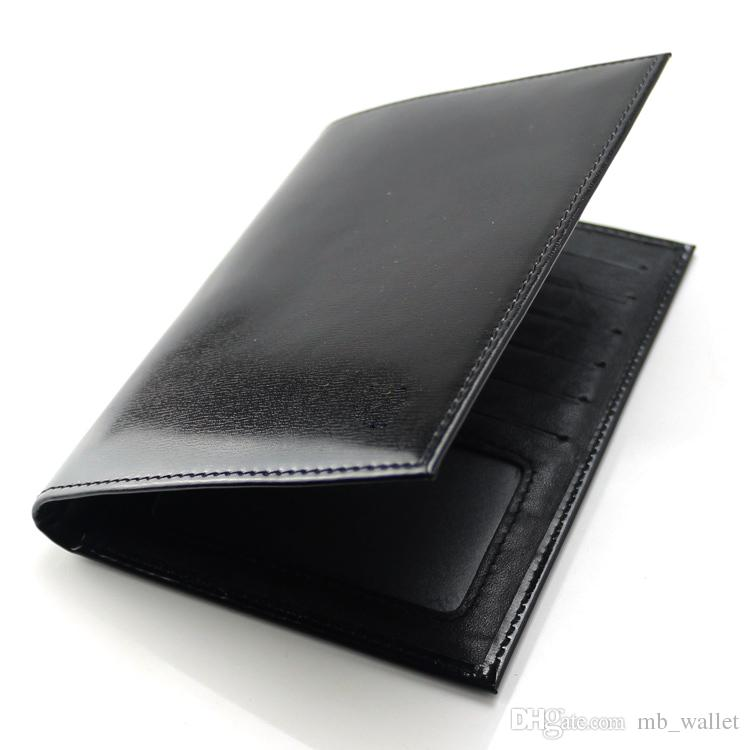 Men's Luxury popular the new MB wallet business genuine leather card case bag credit card holder classic passport wallets