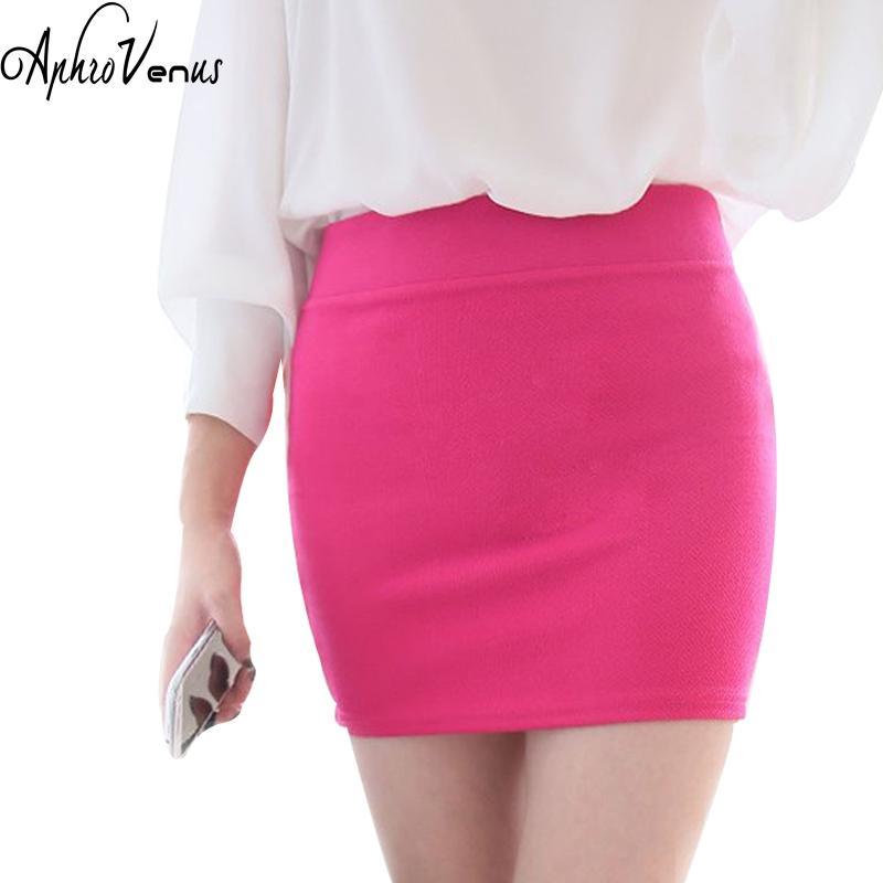 5102a936c5 2019 Women OL Skirts Sexy Slim Summer Women Pencil Skirt High Waist Stretch  Fabrics OL Lady Skirt Hot Sale Elegant Workwears From Mangcao, $34.05 |  DHgate.