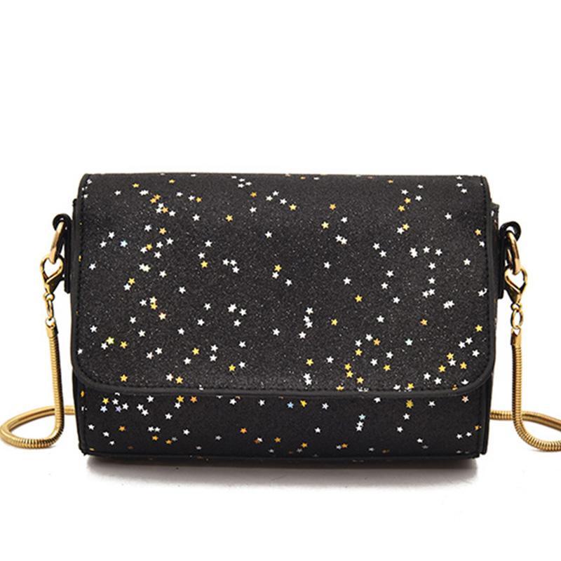 49544af5c7 Women Bag Female Handbags Leather Over Shoulder Bag Crossbody Luxury Designer  Handbag Shining Black Girls Chian Small Flap Bags Purses Designer Handbags  ...