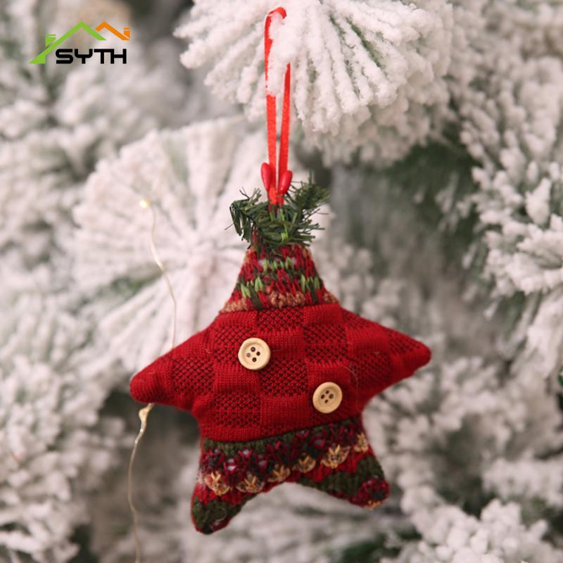 sythmerry christmas ornaments christmas gift tree hang decorations for home decorations ornaments party home decor unusual