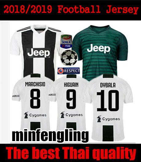 8c2acc6fe 2019 2018 Juventusing 120TH ANNIVERSARY Soccer Jersey Gianluigi Buffon  Black Goalie Dybala Italy MAGLIA HIGUAIN Italia 2018 2019 Football Shirts  From ...