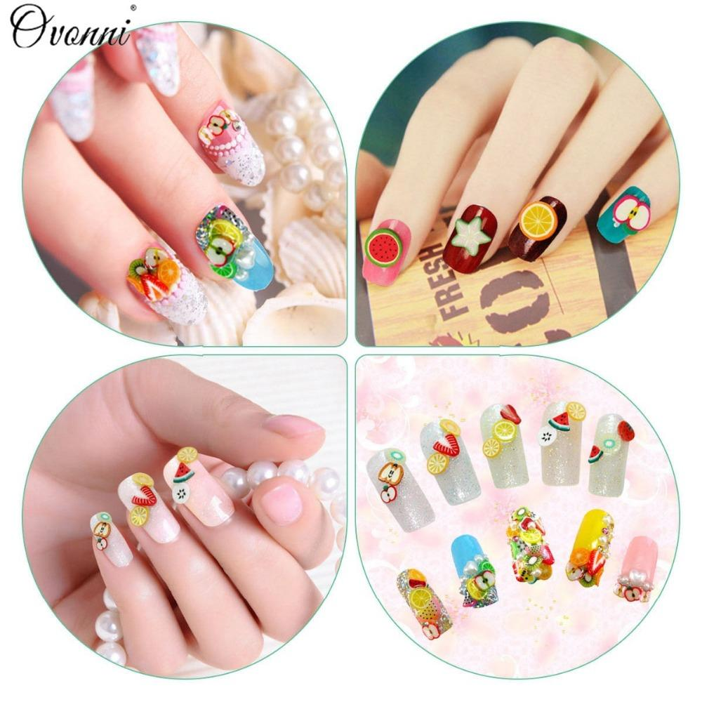 Wholesale 3d Nail Art 3*/Pack Cute Nail Art Manicure Fimo Polymer ...