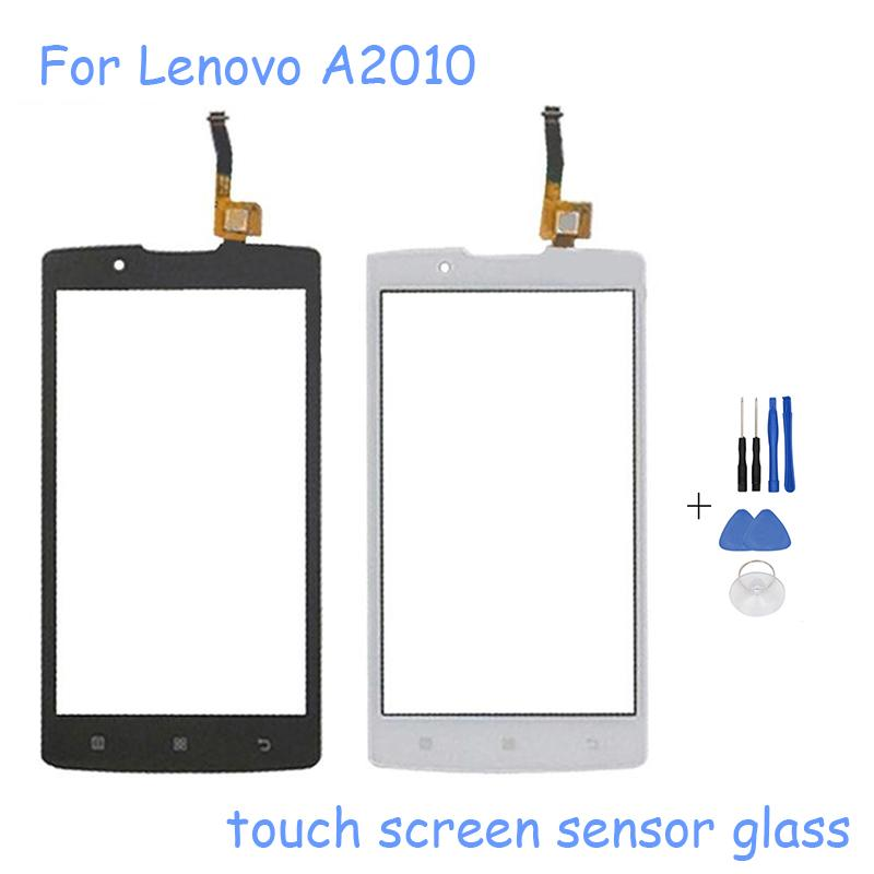 4.5''Touchscreen Sensor For Lenovo A2010 Touch Screen Digitizer Panel Repair For lenovo A2010 Mobile Phone Front Glass+Tools