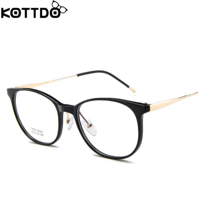 b4e663a5984 New Ultralight TR90 Glasses Fashion Frame Glasses Men Women Myopia ...