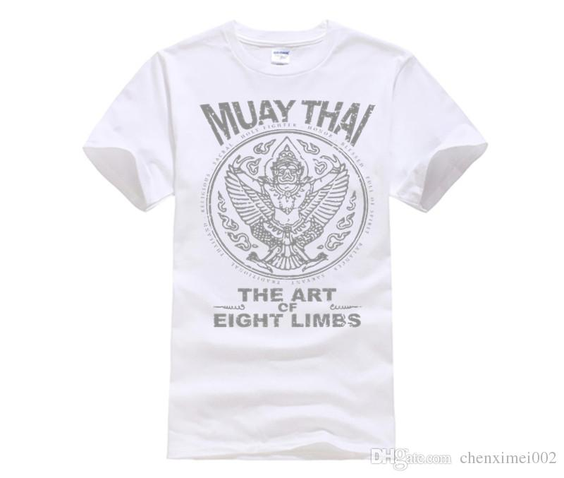 e499f40d Slim Fit T Shirt Garuda Muay Thai Male Round Collar Tee Shirt Plus Size  Adult T Shirt Dress Plus Size Clothing Tops Really Funny Shirts Clothes T  Shirt From ...