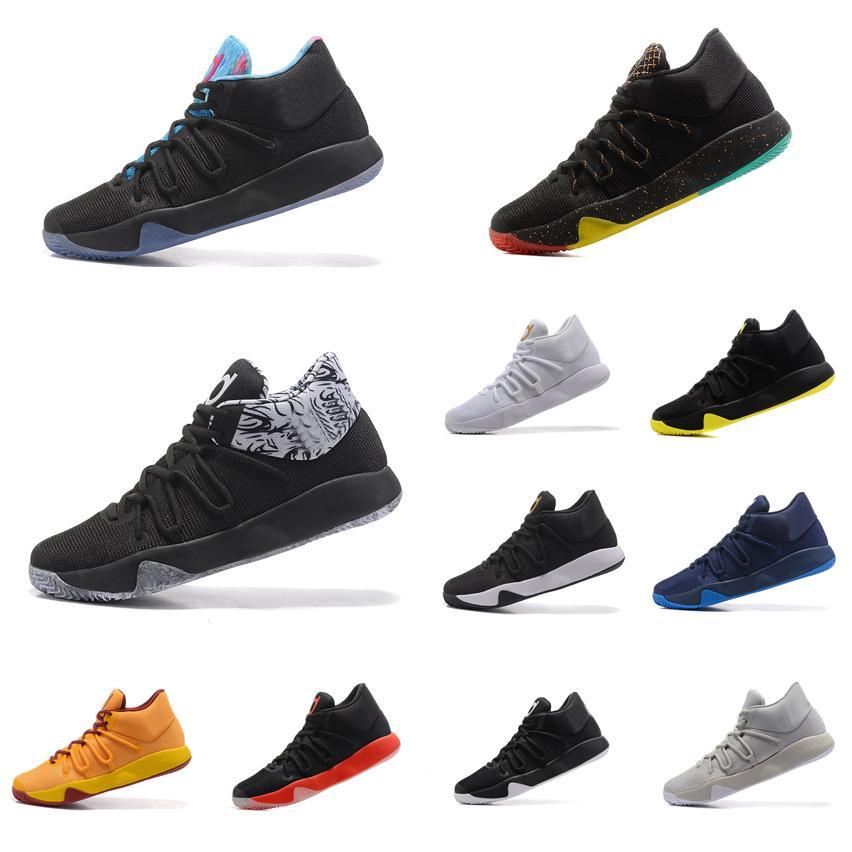 new product bcc33 1e693 Acquista Uomini Nuovi Economici Scarpe Da Basket KD Trey 5 V EP Multi Color  Oro Nero Rosso Grigio BHM PK80 Kds Kevin Durant Air Voli Sneakers Stivali  In ...