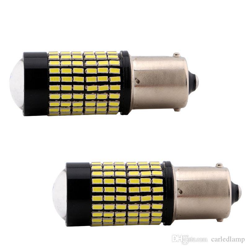 1156 Ba15s Clignotant 3014 Led 12v Lumière 2pcs Phare 10pcs 144smd Lampe Voiture Ampoules YgIyvb7f6