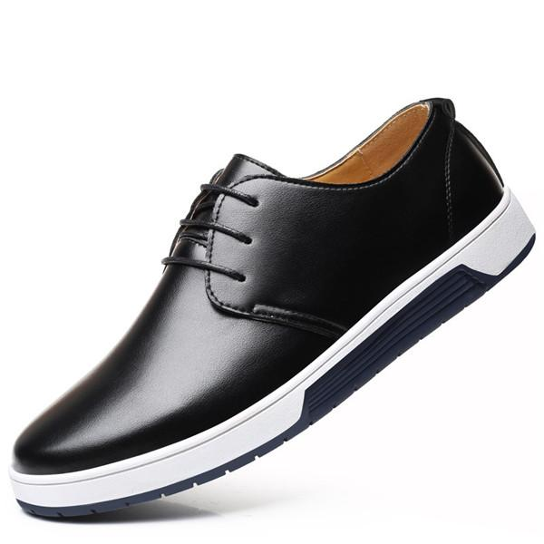 Formal Shoes Summer Mesh Spring Leather Dress Shoes Breathable Men Formal Business Oxfords Plus Size 38-48 For Sale Dress Shoes For Men Strong Resistance To Heat And Hard Wearing