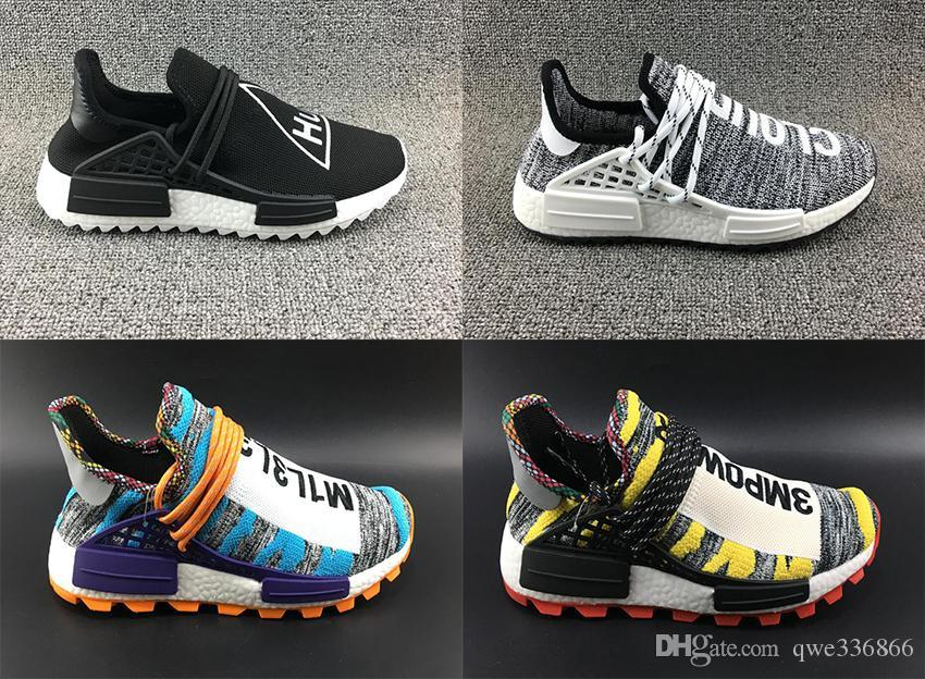 e7ae6c20a Creme X NERD Human Race Solar Pack Running Shoes Pharrell Williams ...