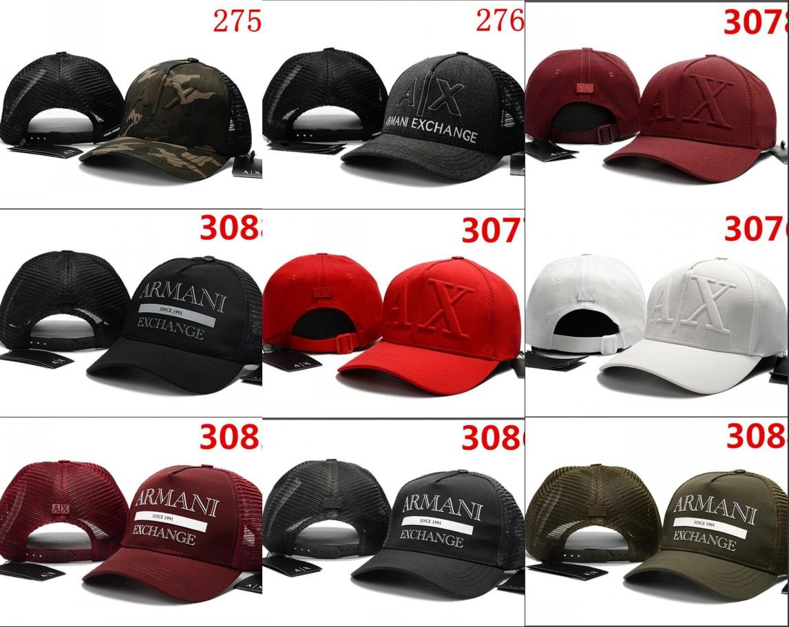 1ba3cf3ca34 New Rare Fashion AX Hats Brand Hundreds Alumni Strap Back Mesh Cap ...