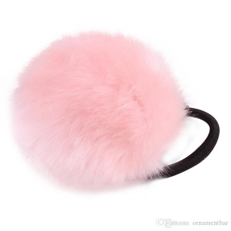 Rabbit Fur Hair Band Elastic Hair Bobble Pony Tail Holder Hair Clip Pin Head  Hairpin Wholesale Dropshopping Online with  34.29 Piece on Ornamentbar s  Store ... 680dbe51b4a6