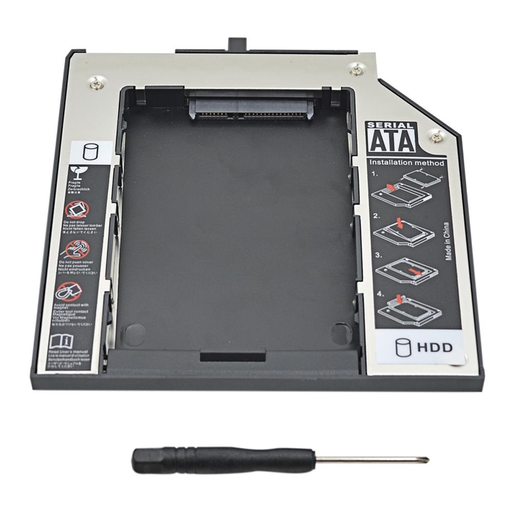 2nd Hdd Caddy 95mm Sata 30 For 25 Ssd Enclosure Lenovo Notebook Ide Interface Cdrom To Usb External Drive Circuit Board 3 Thinkpad T400 T400s T500 W500 T410 T410s T420s Dvd Cd Rom