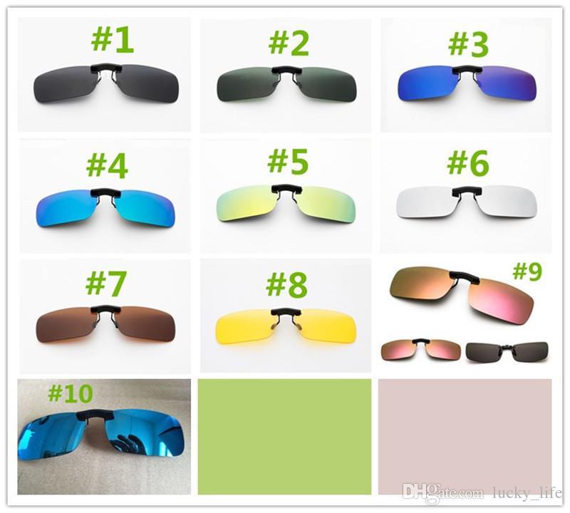 7f53170a88 High Quality Men s New Women s Sunglasses Polarized Lens Clip-on ...