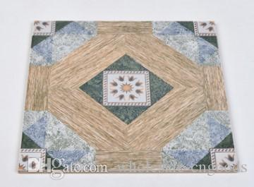 2018 hot European style antique personalities small flower brick living room kitchen bathroom balcony floor tile wall brick 300mm* 300mm