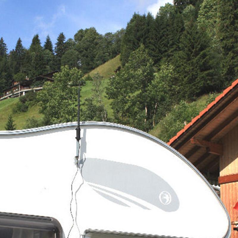 Al aire libre WiFi de alta potencia Adaptador USB 150 Mbps Receptor de señal de tarjeta de red inalámbrica Omnidireccional 13dB WiFi antena 802.11b / g / n