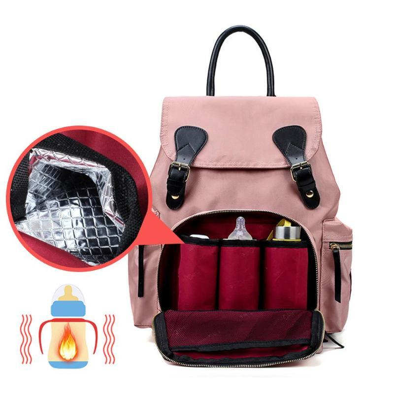 753b65adfc99ac Waterproof Large Diaper Hand Back Bag For Women Mummy Maternity Nappy Bags  Baby Care Travel Nursing Backpack Fashion Rucksack Womens Backpacks Pink ...