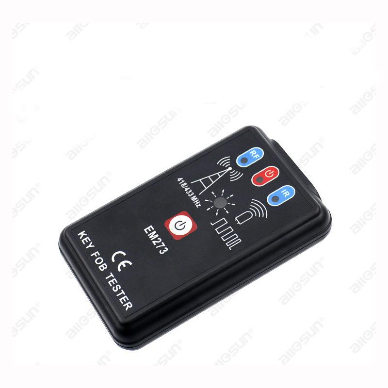 Wireless Radio Frequency Remote Control LED Key Fob Frequency Tester  Checker Finder