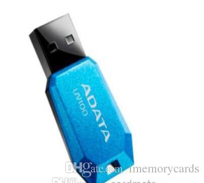 2018 nuovo stile penna USB ADATA UV100 128 GB 256 GB 64 GB USB 2.0 Flash Drive con spedizione veloce gratuita