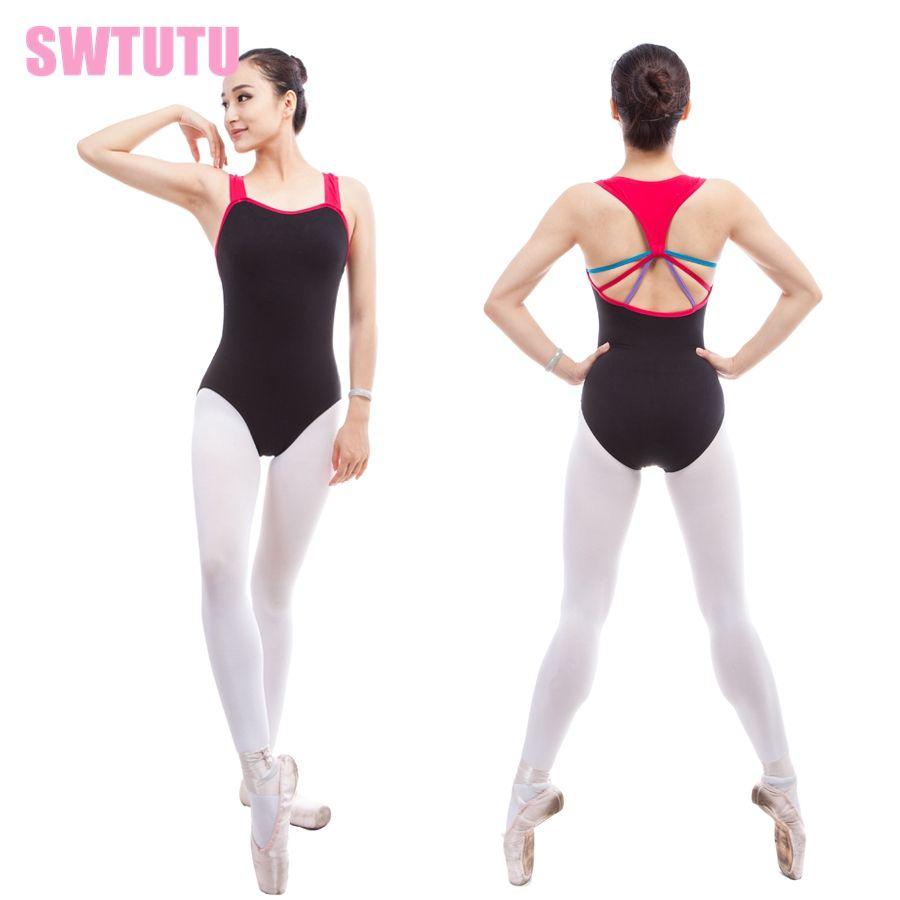 2a520869b 2019 Women Sexy Gymnastic Dance Clothes Black CS0319 Adult Mixcolor ...