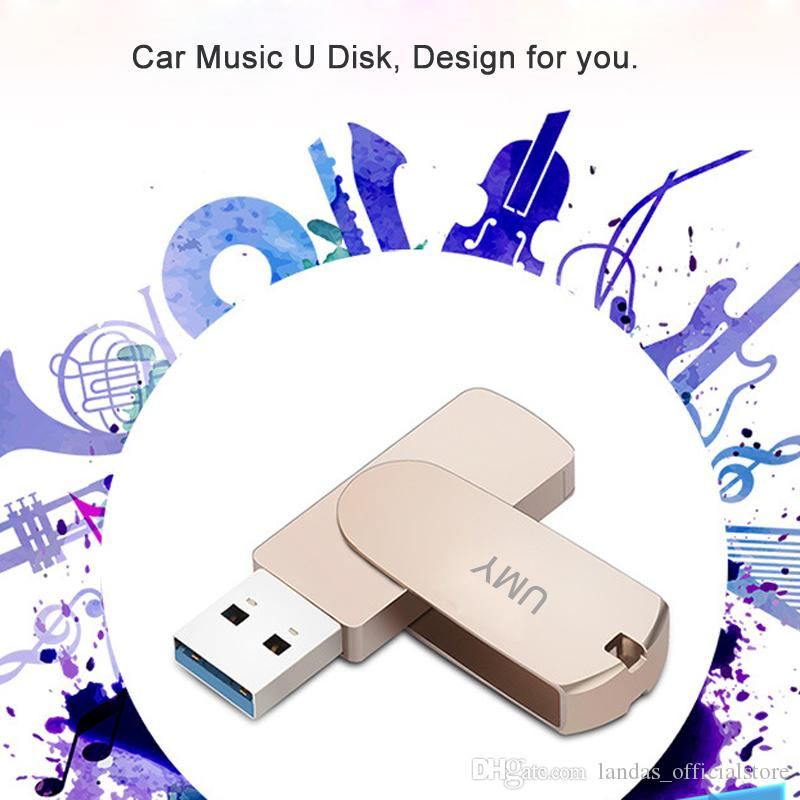 USB 3.0 64GB Flash Drive Metal 16GB Pendrive For Car Music USB Flash Drive 32GB Pen Drive Real Capacity Memory Stick For Laptop