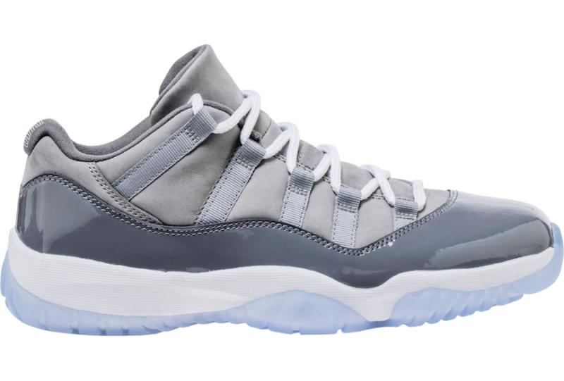 99d07e20ba4656 11s Cool Grey 11 Low Mens Basketball Shoes Sneakers New 2018 With Box From  Michael Sports Running Shoes Basketball Shoes From Sexymichael