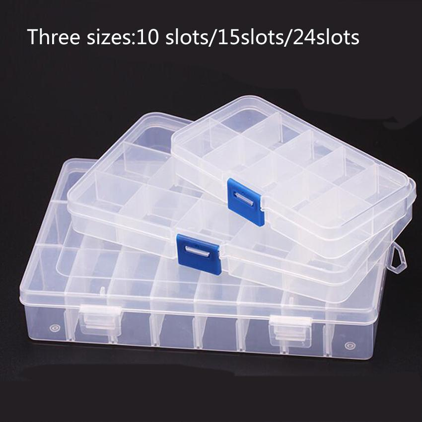 2018 New 24 Slots Cells Portable Jewelry Tool Box Container Ring Electronic Parts Screw Beads Component Storage Box From Newcute $28.92 | Dhgate.Com & 1PC New 24 Slots Cells Portable Jewelry Tool Box Container Ring Electronic Parts Screw Beads Component Storage Box