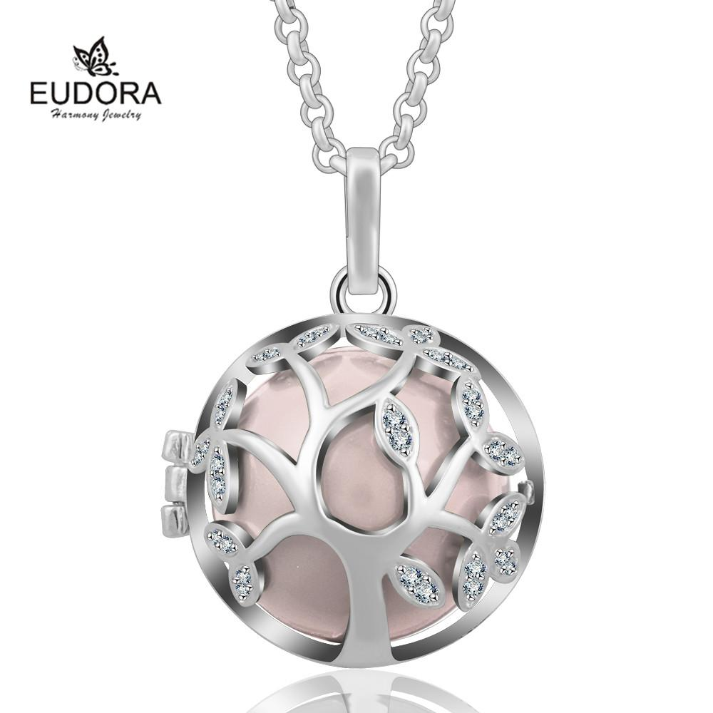 2019 K187N Crystal Family Tree Of Life Cage Birthday Gift For Mom Baby Angel Caller Pendant Mexican Bola Eudora Harmony Ball From Kunnylight