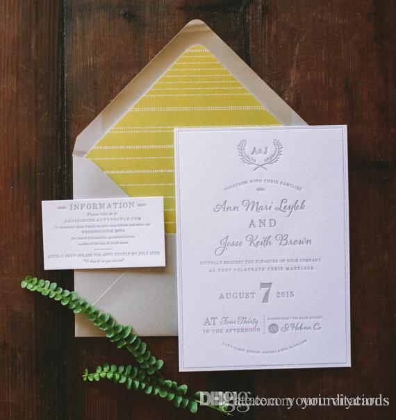 Letterpress Wedding Invitations.Fancy Floral And Classic Letterpress Wedding Invitation Wreath Invitation Cards For Your Wedding With Beautiful Design