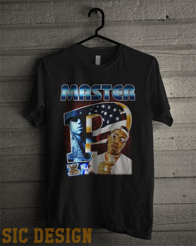 170863b91c1 Master P Vintage Style T Shirt 90s Rap Tee No Limit Records Bout It Bout It  ASAP New Fashion Mens Short Sleeve Cotton T Shirts Offensive Tee Shirts T  Shirt ...