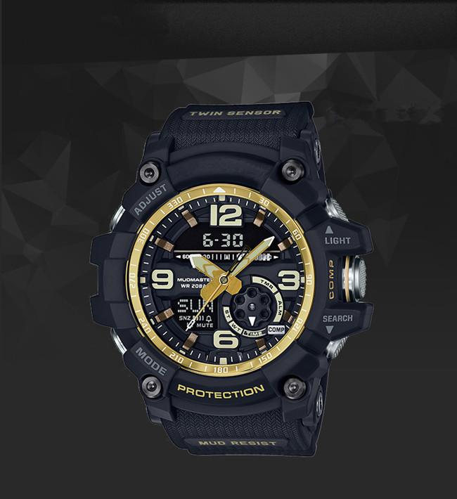 High quality men's g sports GG1000 G 500 Compass thermometer functions watch LED chronograph shocking all function work waterproof watches