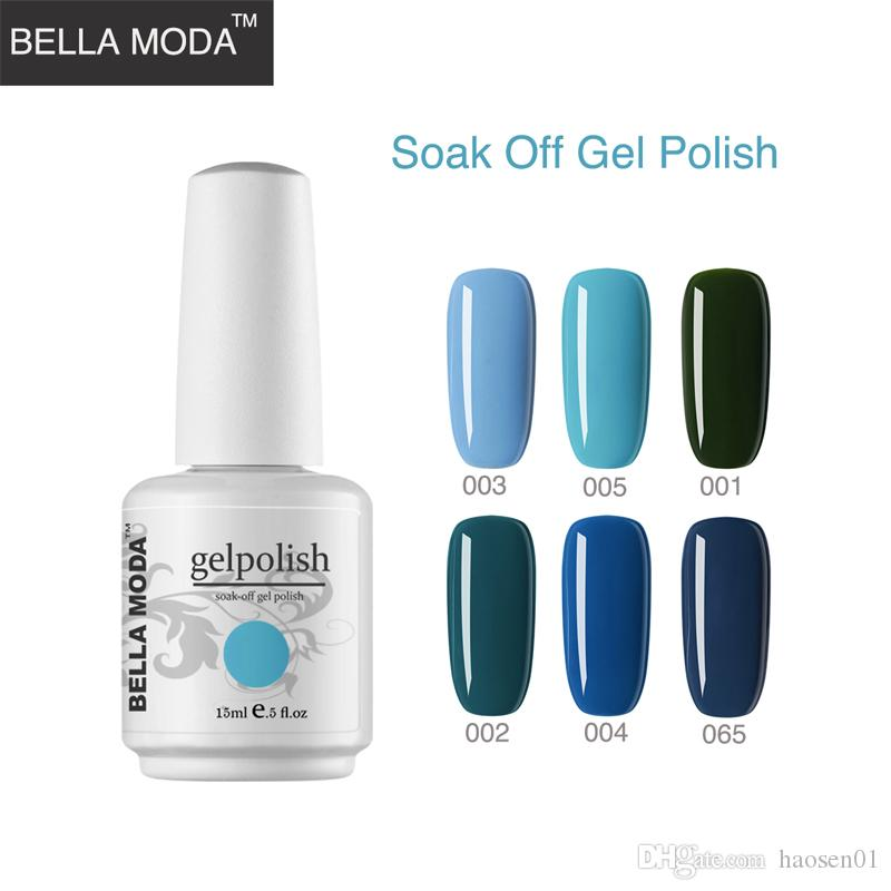 BELLA MODA 15ml Nail Polish Nail Varnish Lacquer Paint Nail Art For ...
