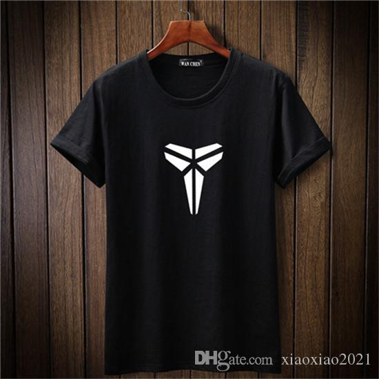 Brand Summer Men Kobe Bryant T Shirt New Fashion KB 24 T Shirt Mens Slim  Fit Short Sleeve Casual Top Tee Shirt 5XL Really Cool T Shirts Online  Shopping T ... b88973bb9780