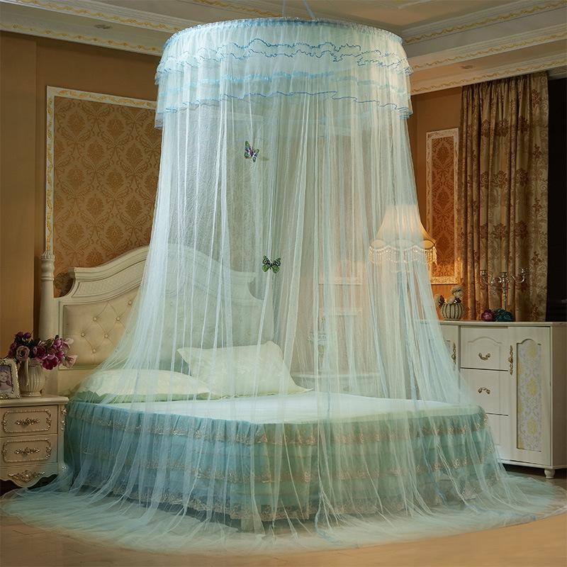 Simanfei Luxury Romantic Hung Dome Mosquito Net Princess Insect Bed