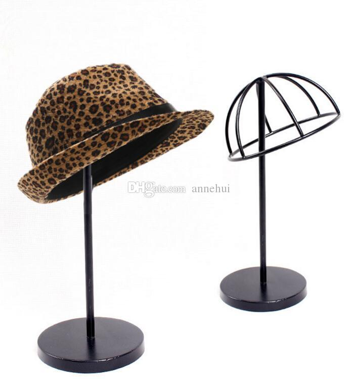 Charming 2018 Hat Storage Rack Metal Peak Cap Display Stand Bucket Hat Straw Hat  Sunhat Shelf Holder Wig Hairpiece Display Rack From Annehui, $18.25 |  Dhgate.Com