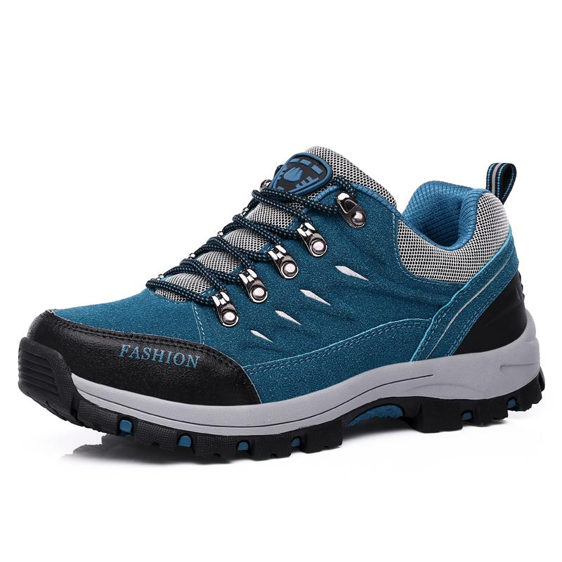 Unisex Hiking Shoes Outdoor Campline Hiking Sneakers Breathable ... 7409489b810