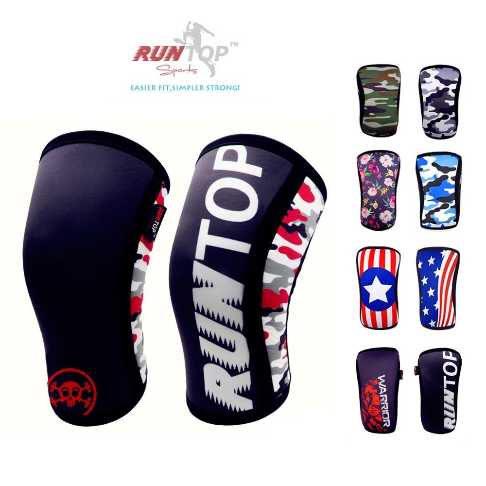 c40c0ef69c 2019 RUNTOP 7mm Neoprene Knee Sleeves Crossfit WODS Squats Weight Lifting  Powerlifting Fitness Knee Pad Support Brace Cap Compression From Sportblue,  ...