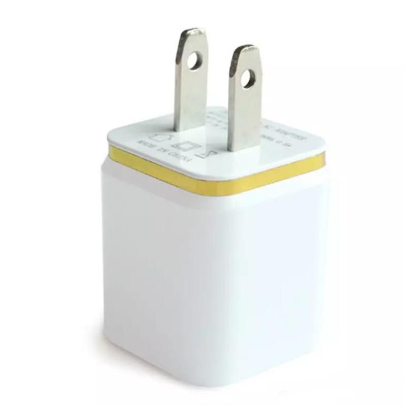 ITTA Dual USB Carregador de Carregador de Parede 2 Portas de Carregador De Metal Plug 2.1A + 1A Plug Power Adapter para o iPhone Samsung Ipad Qualquer Celular