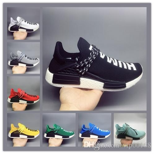 12e6fc597 Luxury Designer Human Race Mens Running Shoes Pharrell Williams X ...