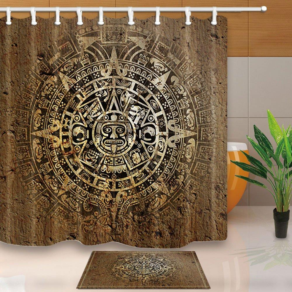 Wholesale-Native Decor, Ethnic Indian Style with Aztec Calendar in ...