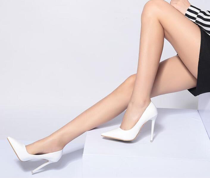 Ladies High Heels Formal Occupation OL Sandals Sexy Night Club Fashion Joker High Heels