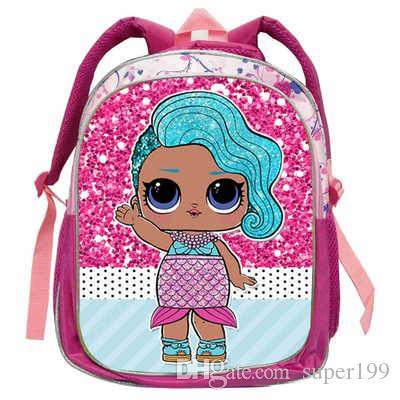 37534e7c2a 2018 LOL Dolls Baby Backpack Animal Anime Cute Casual School Bags Toddlers  Boys Girls Teenager Gift Bolsa Birthday Dg 014 Back Packs Rolling Backpacks  From ...