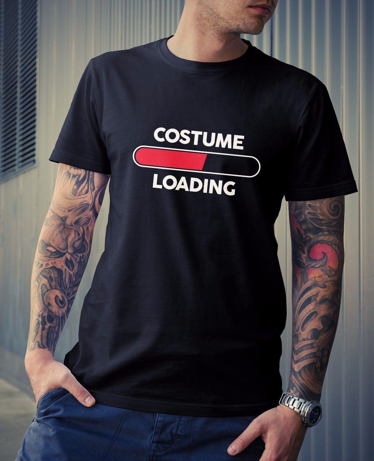 4a8ef562d Costume Loading Men's & Kids T-Shirt - Halloween Novelty Joke Funny Party  Fancy Cool Casual pride t shirt men Unisex New