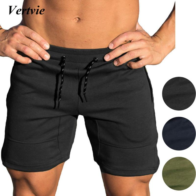 2019 Men Solid Running Shorts Breathable Underwear Tights Gym Fitness Running  Boxers Football Soccer Skinny Sport Training Trunks From Baibuju 3677bb5da8c3