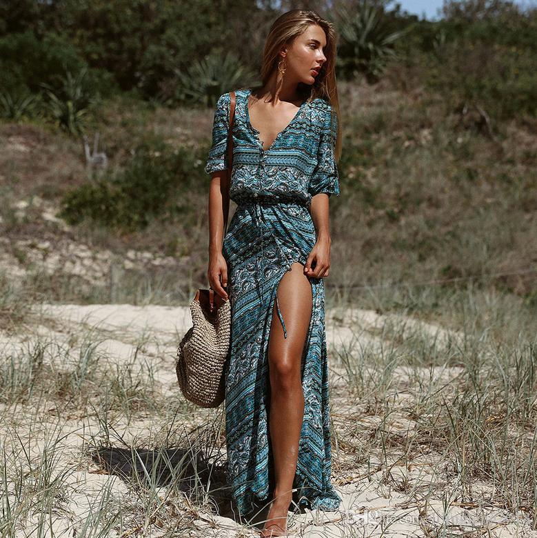 Vestidos largos de verano costa rica