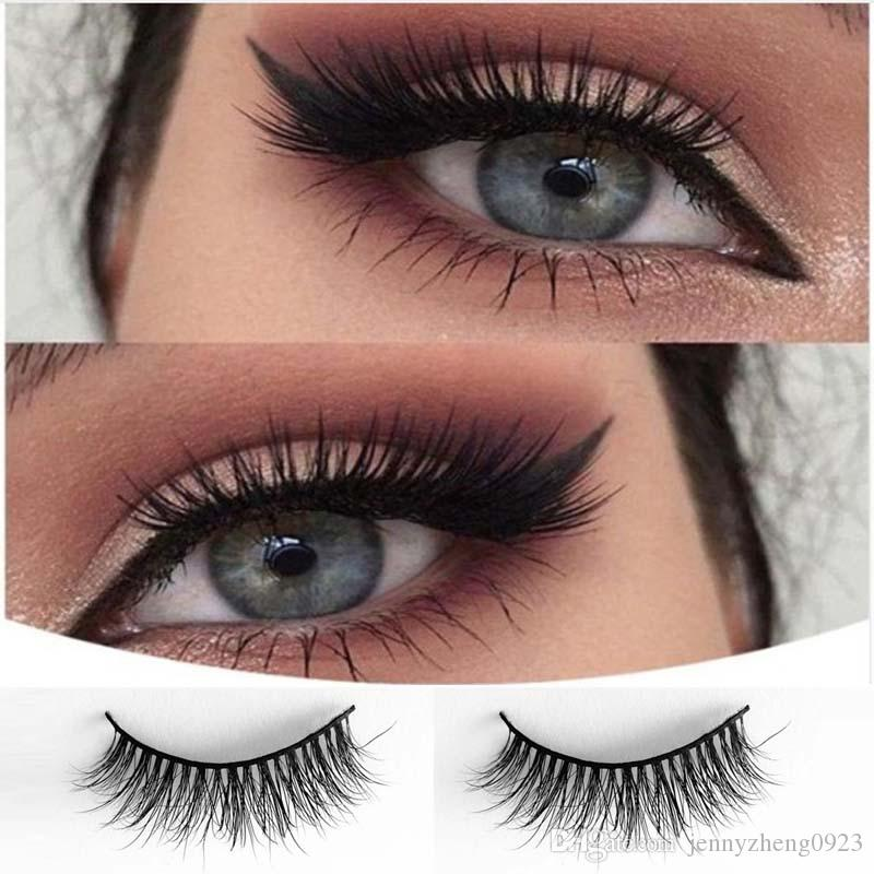 7115dba4478 Mink False Eyelashes Gorgeous Makeup Tools 3D False Eyelashes Dolly Lashes  Personal Use #034 Permanent Eyelash Extensions Semi Permanent Lashes From  ...